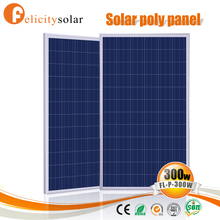 High efficient guangzhou factory price price per watt solar panel 300w for portable solar power systems