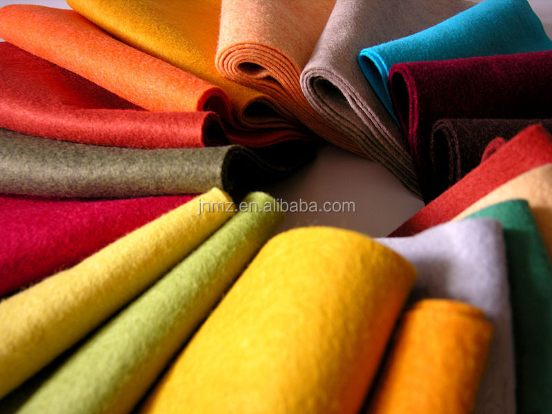 Fashion Colored wool felt factory