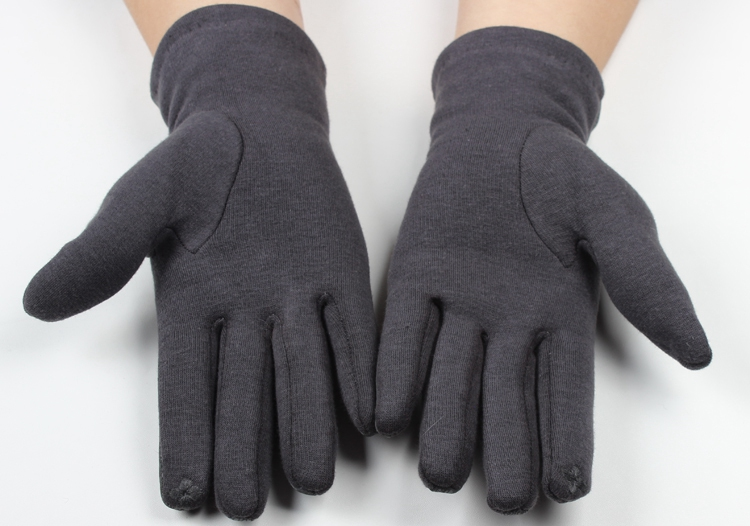 Multi color winter women smartphone soft touch gloves