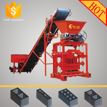 Very Popular In Peru QTJ4-35 Manual Concrete Block making machine Fly Ash Bricks Machine Cement Blocks Producing System