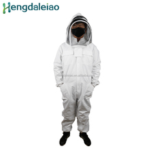 HD-BEES beekeeping Protective clothing white beekeeping suit with bracket Bee Keeping Suits