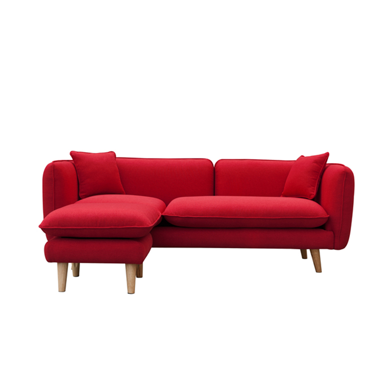Cheap Price Modern Fabric l shape sofa cum bed