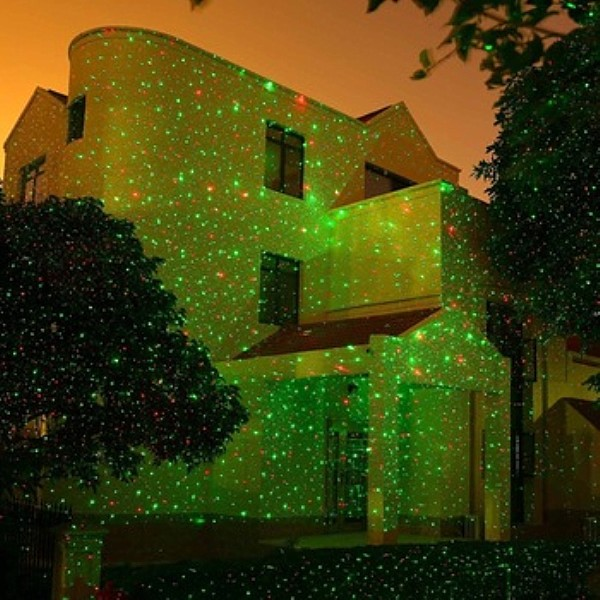 2017 Laser Christmas Lights Waterproof Landscape Decorative Star Projector