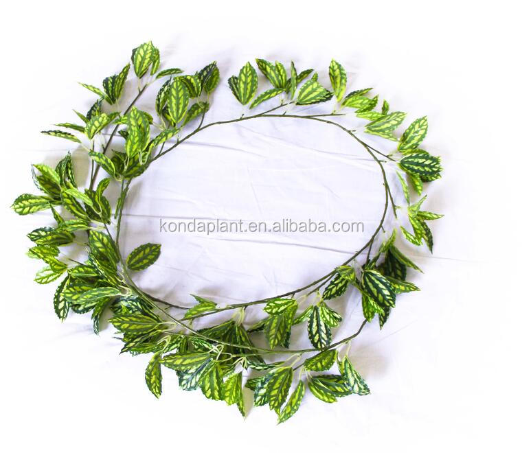 Konda Wholesale artificial ivy vine cheap artificial decorative vines leaves
