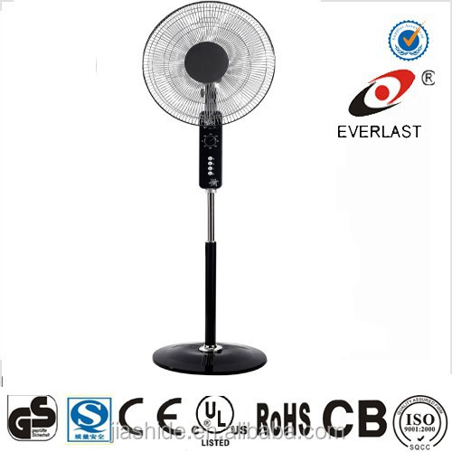 18 stand fan home appliances stand fan with light with CE ROHS