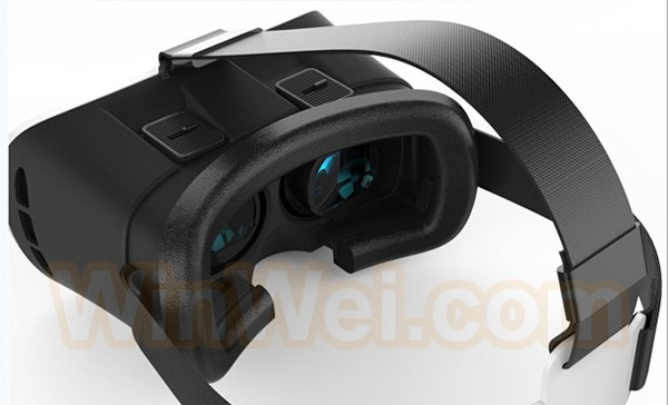 China factory supply high quality 3d glasses vr box 3d virtual reality glasses
