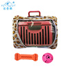 2018 new design outdoor dog carrier bag,triangle cage for dog