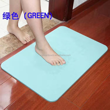 diatomite bath mat dries quickly mats earth Japan
