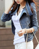 New Arrival Fancy Ladies Denim Blazer From Chinese Factory