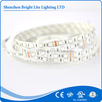 505 Nonwaterproof IP20 RGB 60LED UL certificate smd 5050 rgb led strip light
