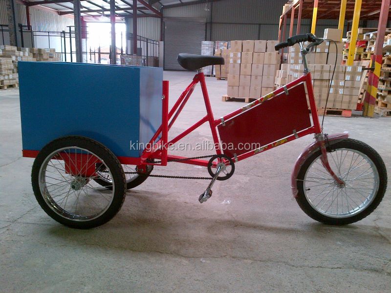 3 wheel adult tricycle wholesale/Cheap cargo bike KB-T-M01