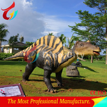 Theme Park Moving Life Size Robotic Dinosaur Equipment