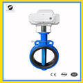 Industry -class CTB Series electrical ball/butterfly valve with large torque DN15-500