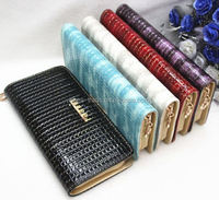 Factory sale OEM/ODM 2015 women leather wallet for lady