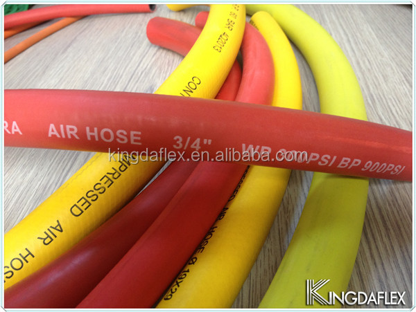 Black Red Yellow Blue Color Rubber Air Water Hose For Hose Making Machinery