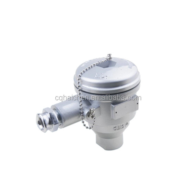stainless steel aluminium CT6 Explosion Proof Certified thermocouple connection head