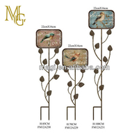 Vintage Metal Garden Decoration For Home