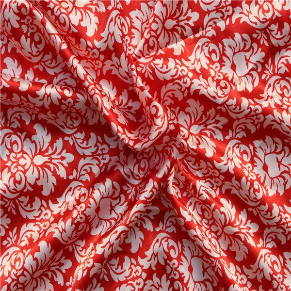 Wholesale 100 polyester satin ,floral printed satin fabric ,duchess satin silk fabric