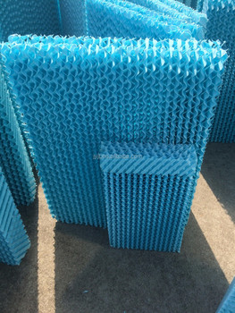 blue evaporative cooling wall