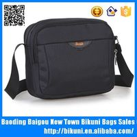 Hot selling 14 inch nylon laptop messenger bag men's shoulder bag