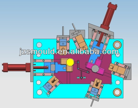 customized plastic injection 3D mold design china supplier