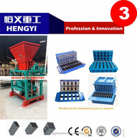 new German technology/advanced technology QT4-35 coal ash brick making machine