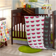Cynthia Polyester Knitted Cute Sherpa Baby Blanket