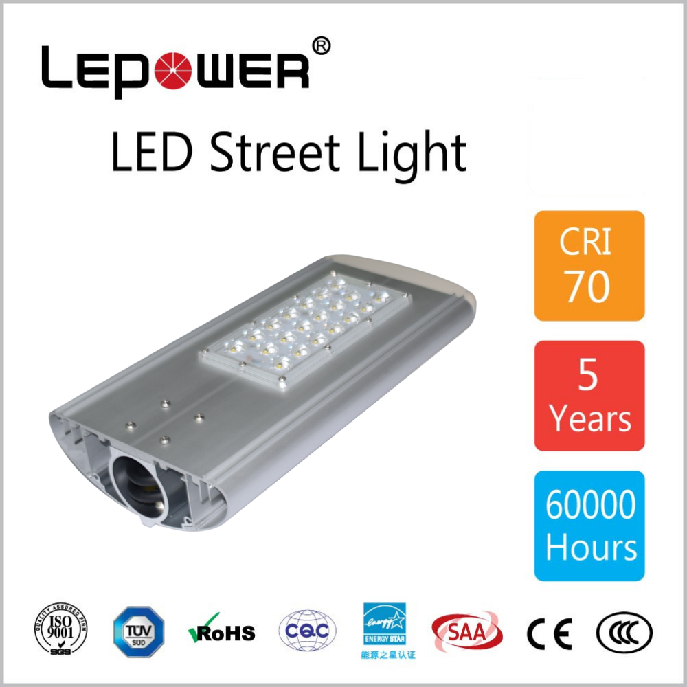 long lifespan Photocell Street Lighting Led 50w led street light /solar led street lamp
