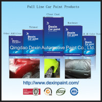 Car refinish glass coating