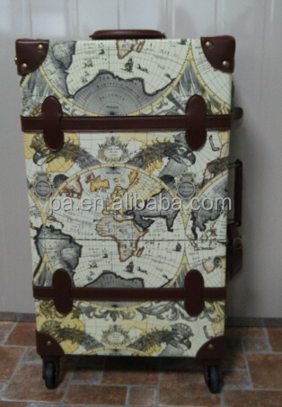 hard carry on 4 wheels trolley for travel abs luggage and cases vintage carry bag travel suitcase vintage