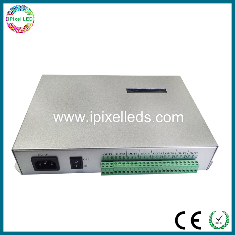 ac 110-220v LED controller t300k LED digital DMX512 decoder