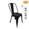 Different colors top quality home metal chair high bar stool for dining room