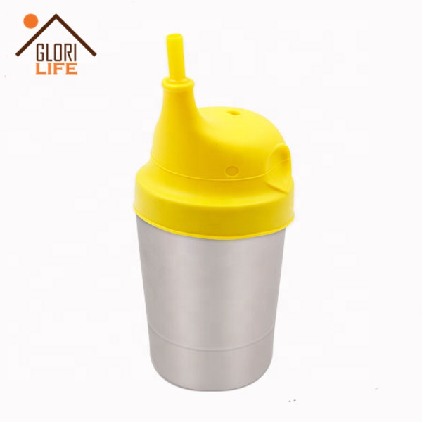 Kids Baby Vacuum Insulated Stainless Steel Sippy <strong>Cup</strong>