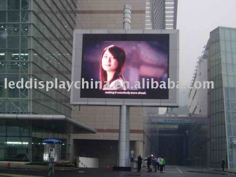 P10 Outdoor Full Colors LED Display.