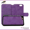 Quality Flip Leather Case Cover for smart phone for iPhone 4 leather cover
