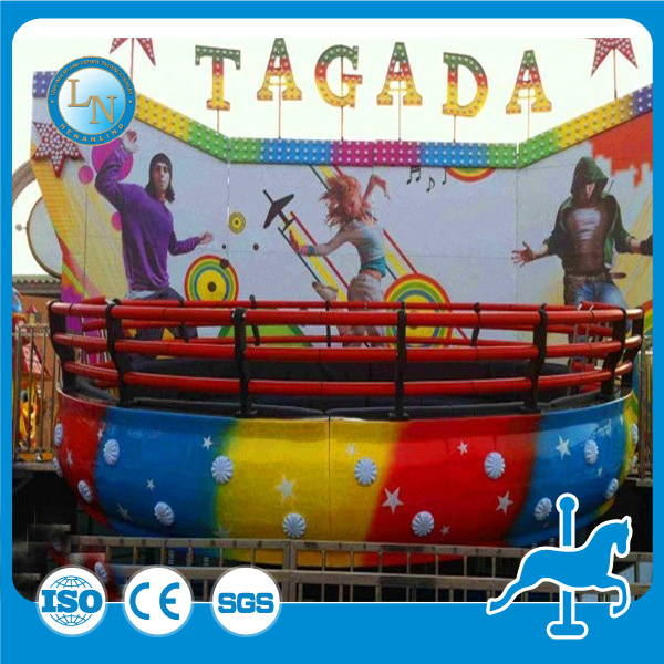 China new attraction Fairgound rides Park Amusement rides disco tagada for sale