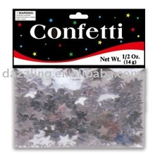 Shaped Party Confetti - Star
