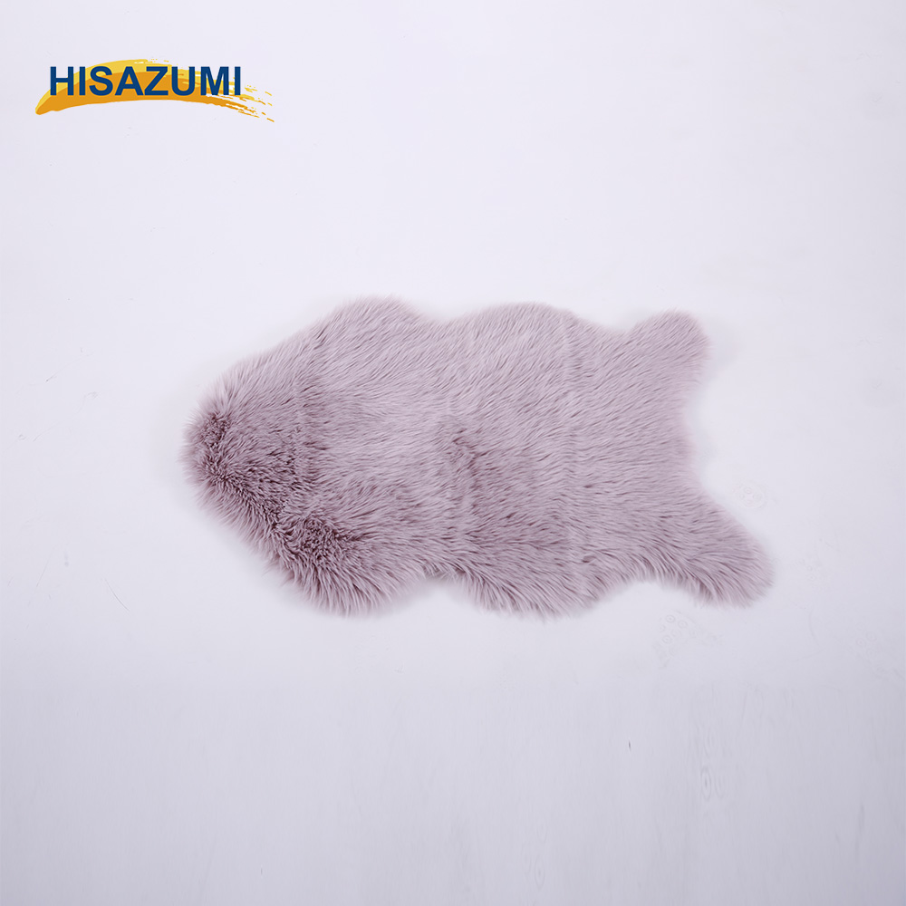Brand Luxury Shaggy Rug Animal Faux Fluffy Fur Carpet Sheepskin Rugs Floor Mat Super Soft Rug Bed Spread Chair Cover Seat Pad