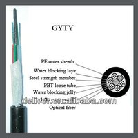 GYTY 4 core fiber cable
