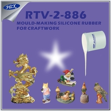RTV2 liquid silicone rubber to make mold at room temperature curing RTV silicone rubber