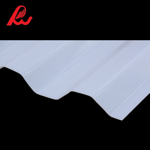 UV protection polycarbonate corrugated roof sheet/top quality pc skylight roofing sheet