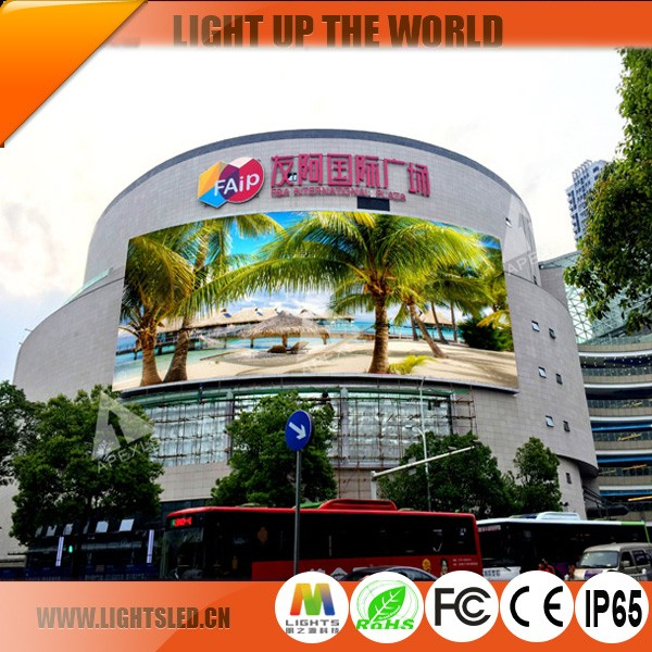 Professional Good quality P5 P4 P3.91 SMD outdoor led display panel / RGB outdoor module with high quality