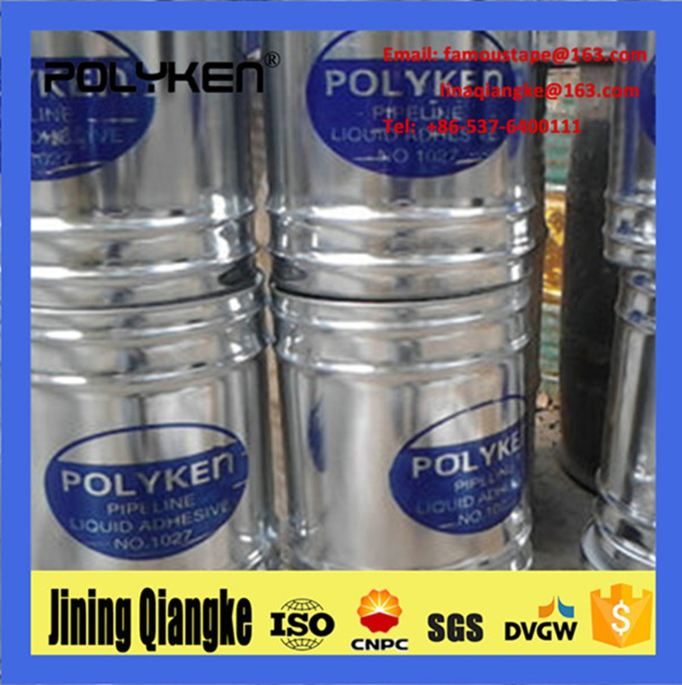 Polyken 1027 /1019 heavy duty adhesive quickly drying liquid primer for general coating