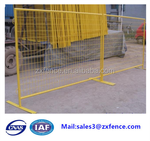2018 Trade assurance factory dorect wholesale foot fixed temporary fence,galvanised fence