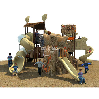 New Wooden Style Kids Outdoor Playground Items Playground Outdoor Equipment