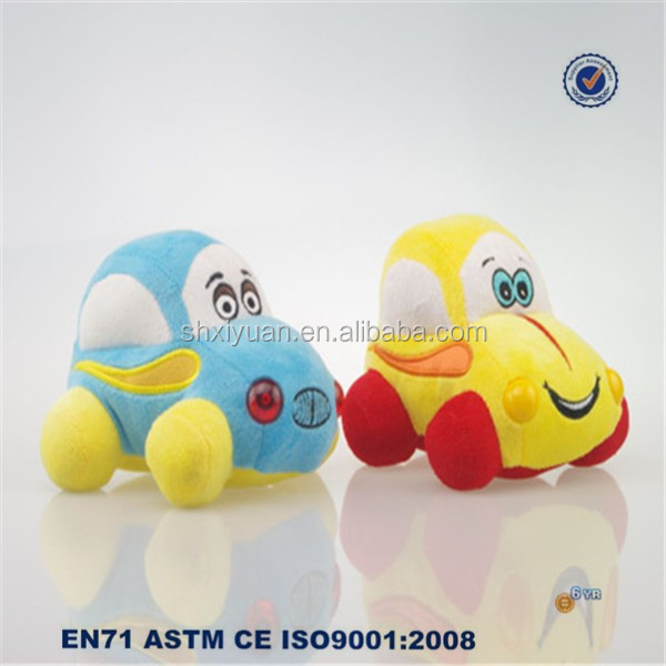 Plush Electrical Toy Car/Cute Plush Car Baby Toy/Plush Car Toy