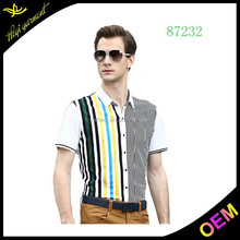 New model slim fit casual shirt for men branded low price casual shirts cheap plaid shirts