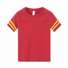 new design 100% cotton <strong>boy's</strong> <strong>t-shirt</strong> with stripe sleeve <strong>t-shirt</strong> for boy