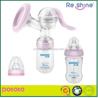 2014 New design mother care use PP baby manual breast pump