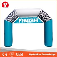 Inflatable arch , cheap advertising inflatable arch finish line
